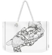 Give Me A Choice By Giving Me Life Weekender Tote Bag