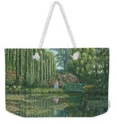 Giverny Reflections Weekender Tote Bag