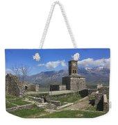 Gjirokaster Castle Albania  Weekender Tote Bag