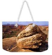 Glacial Erratic Weekender Tote Bag by Adam Jewell