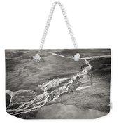 Glacial Rivers Weekender Tote Bag
