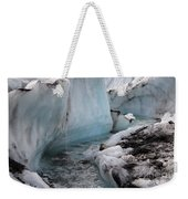 Glacial Waters Weekender Tote Bag