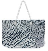 Glacier Abstract Weekender Tote Bag