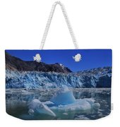Glacier And Ice Weekender Tote Bag