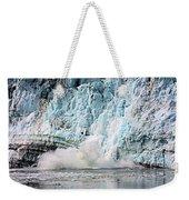 Glacier Calving Margerie Weekender Tote Bag