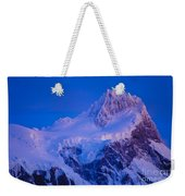 Glacier Covered Paine Grande, Chile Weekender Tote Bag