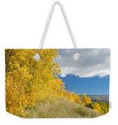 Glacier Fall Color Ridge Weekender Tote Bag