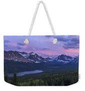 Glacier Glow Weekender Tote Bag