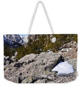Glacier Gorge Ahead Weekender Tote Bag