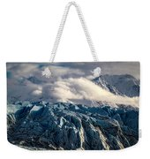 Glacier In The Clouds Weekender Tote Bag