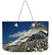 Glacier Mountains Weekender Tote Bag