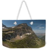 Glacier National Park Panorama Weekender Tote Bag
