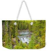 Glacier National Park Splendor Weekender Tote Bag