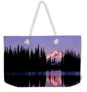 Glacier Peak Sunrise On Image Lake Weekender Tote Bag