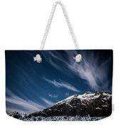 Glacier Sky Weekender Tote Bag