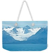 Glaciers In Kenai Range Over Kachemak Bay In Homer-ak- Weekender Tote Bag