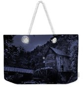 Glade Creek Grist Mill At Night Weekender Tote Bag