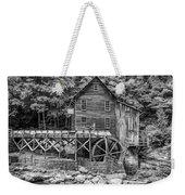 Glade Creek Grist Mill Bw Weekender Tote Bag
