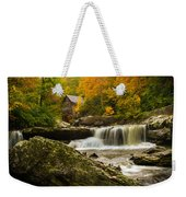 Glade Creek Grist Mill Weekender Tote Bag by Shane Holsclaw