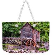 Glade Creek Grist Mill Weekender Tote Bag by Steve Harrington