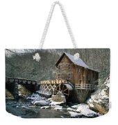 Glade Creek Grist Mill In West Virginia Weekender Tote Bag