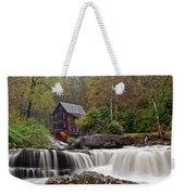 Glade Creek Waterfall Weekender Tote Bag