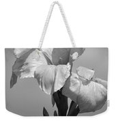 Gladiola In Black And White Weekender Tote Bag