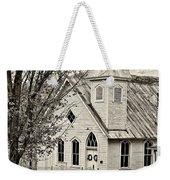 Glady Presbyterian Sepia Weekender Tote Bag