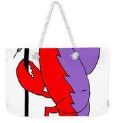 Glam Rock Lobster Or Harleguin Lobster Weekender Tote Bag