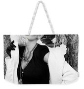 Glamour Bw Palm Springs Weekender Tote Bag by William Dey