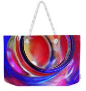 Glass Abstract 592 Weekender Tote Bag