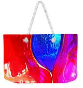 Glass Abstract 606 Weekender Tote Bag