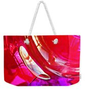 Glass Abstract 607 Weekender Tote Bag