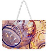 Glass Abstract 620 Weekender Tote Bag