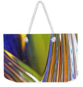 Glass Abstract 743 Weekender Tote Bag