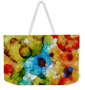 Glass Art Abstract Weekender Tote Bag