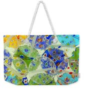 Glass Beads Abstract Weekender Tote Bag