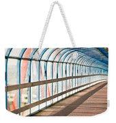 Glass Covered Walkway Weekender Tote Bag
