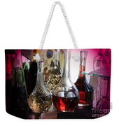 Glass Decanters And Glasses Weekender Tote Bag