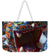 Glass Jaguar Weekender Tote Bag