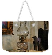 Glass Lamp And Stereopticon Weekender Tote Bag