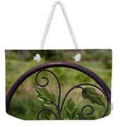 Glass Leaves Weekender Tote Bag