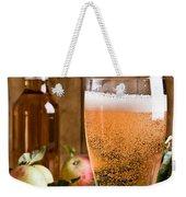 Glass Of Cyder Weekender Tote Bag