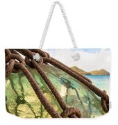 Glass Ornament Weekender Tote Bag