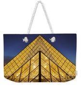 Glass Pyramid Weekender Tote Bag