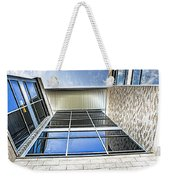 Glass Reflections Weekender Tote Bag