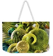Glass Shapes Weekender Tote Bag