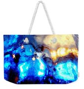 Glass Vase Abstract Weekender Tote Bag