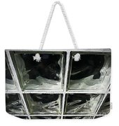 Glass Wall Weekender Tote Bag