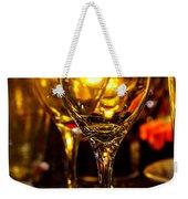 Glasses Aglow Weekender Tote Bag